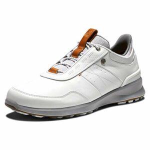 Footjoy Stratos, Chaussure de Golf Homme, Blanco, 40.5 EU