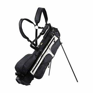 Golf Bags Sacs, Sac de Golf Sac Trépied Unisexe Standard Portable Multifonctionnel Léger, 4 Compartiments, Tenir 13 Clubs