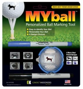 Green Keepers Myball 19th Hole Marking System – Multicoloured