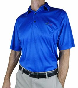 Greg Norman Men's Short Sleeve Golf Polo (ECLI, X-Large)