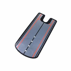 HUWENJUN123 Golf Putting Mirror, Golf Alignment Mirror Training Aid Trainer, Portable Swing Trainer 12.5 « x 5.7 » – Entraînez-Vous à Votre Outil d'alignement de Putting