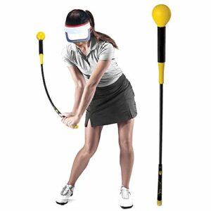 HUWENJUN123 Golf Swing Trainer Aide à la Formation Swing Trainer Bâton d'échauffement de Pratique de Golf pour la flexibilité de la Force et l'entraînement au Tempo