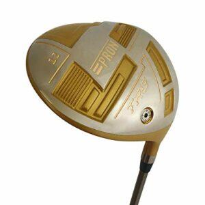 Japan Pron Driver réglable USGA R A Rules Club de golf avec couvre-club 460 cc, loft 11 degrés, Senior Flex, modèle TRG21