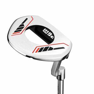 Jianghuayunchuanri Golf Chippers Club de Golf Ajustable à Main Droite de Golf pour Hommes Outil D'entraînement de Club (Couleur : Gris, Size : One Size)