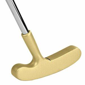 Jianghuayunchuanri Golf Chippers Terrain de Golf de Golf de Golf à Droite Outil D'entraînement de Club (Couleur : Gold, Size : One Size)