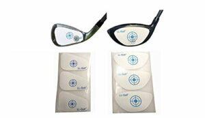LL-Golf® 150 pièce Club de Golf Impact Tapes/Étiquettes/pour Driver/Wood OU Iron/Wedges/l'autocollant (Driver/Wood)