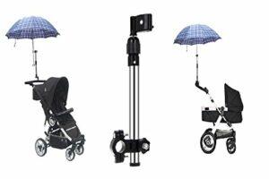 LL-Golf ® Porte-Parapluie Extensible jusqu'à 40 cm pour Poussette/vélo/Fauteuil Roulant/Trolley/Buggy/Golf/Umbrella Holder