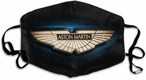 Luoquan Bandana pour adulte avec logo Aston Martin réutilisable et lavable anti-poussière pour le sport et l'extérieur