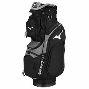 Mizuno BRD4 Cart 2019 Sac de Golf Mixte Adulte, Black, FR Fabricant : Taille Unique