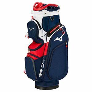 Mizuno BRD4 Cart 2019 Sac de Golf Mixte Adulte, Navy Red, FR Fabricant : Taille Unique