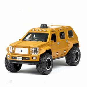 Modèle de voiture de collection 1:24 DieCasts – Modèle de voiture clignotant en alliage – Voiture de sport – Couleur : 2