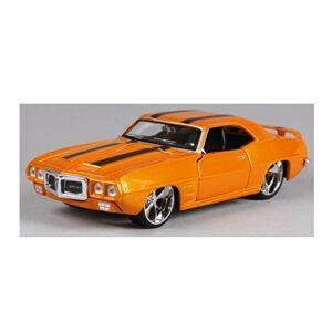 Modèle de voiture de collection 1/24 moulé sous pression – Modèle de voiture statique 1/24 – En alliage – Édition modifiée – Muscle Sports Car (couleur : 6)