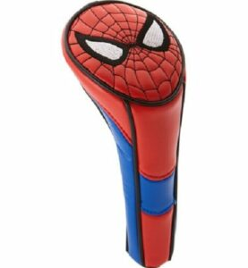 Official Marvel Spiderman Golf Hybrid or Rescue Wood Headcover.