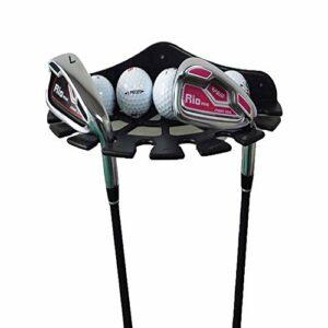 Organisateurs de clubs de golf et boîte de présentation de balles de golf, étagère de présentation de clubs de golf, support de balles de golf, idéal pour ranger et organiser votre équipement de golf