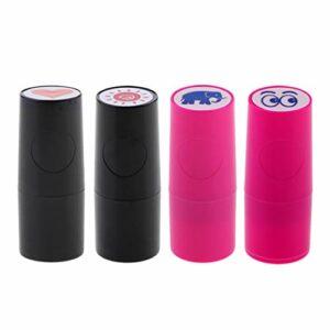 oshhni Tampon/Marqueur de Balle de Golf 4 Pièces (différents Modèles) Portable et Facile