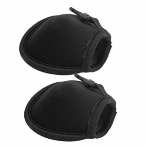 Pochette à Balle, Poche à Balle Portable 2 pièces, Accessoire de Balle étanche écologique pour Boules de Magasin(Black)
