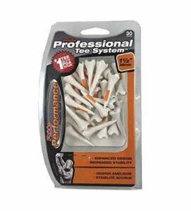 Pride Professional Tee System,Evolution Plastic 30 Golf Tees, 1 1/2″ (2-Pack)