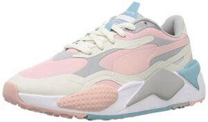 PUMA RS-g WMNS, Chaussure de Golf Femme, Vaporous Gray Peachskin High Rise, 41 EU