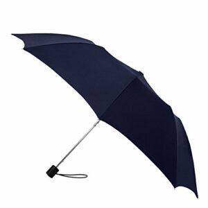 Rainbrella, sur Mesure et Manuel Ouvert Parapluie, Bleu Marine