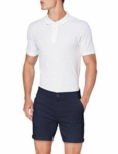 Rhino Twill Golf Shorts Homme, Bleu marine, 34