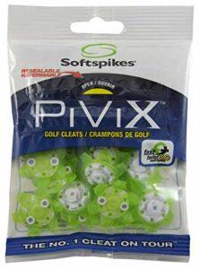SOFTSPIKES PiViX Crampons de Golf, PVFZCL-TG-EU, Vert, Clamshell of 1 Set