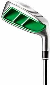 SUB 70 X FOCUS Chipper de golf carré en acier pour droitier Vert 45 degrés