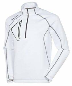 Sunice Allendale Pull Thermique ultraléger pour Homme Blanc Blanc x-Large