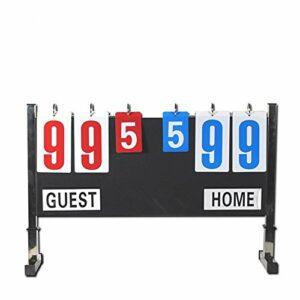Tableau de bord Tableau de bord portatif de tableau de bord portatif de tableau de bord d'acier inoxydable de match de football for les jeux etc. de basket-ball de badminton L'entraîneur contre