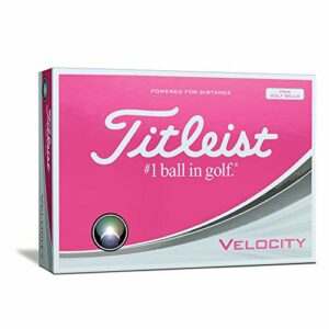 Titleist Velocity pink 2018 – 12er Pack