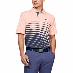 Under Armour Polo de Golf Playoff 2.0 pour Homme. XXL Peach Frost (845)/Academy Blue