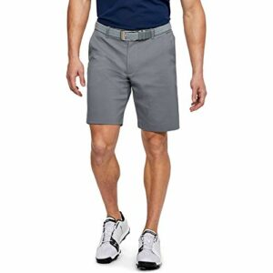 Under Armour Short de Golf Showdown Homme, Zinc Gray,Steel Medium Heather,Zinc Gray (513), FR Unique (Taille Fabricant : 31)