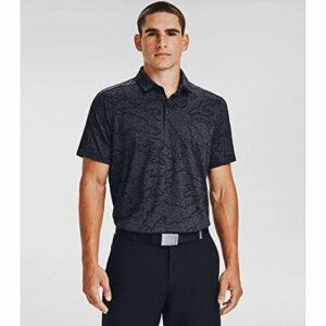 Under Armour Vanish NCG Camo Wicking Stretch Polo de golf pour homme – Noir – XXX-Large