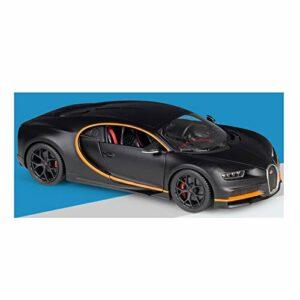 Voiture de marque modèle 1/18 pour Bugatti Divo Supercar modèle de voiture en alliage à collectionner (couleur : 7).