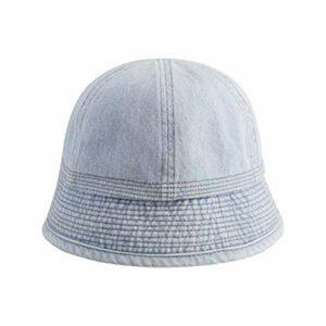 YHX Automne Nouveau, rétro Faire Vieux Chapeau de Cowboy Laver, Chapeau de pêcheur Chapeau de Bassin féminin Chapeau, Shopping Occasionnel
