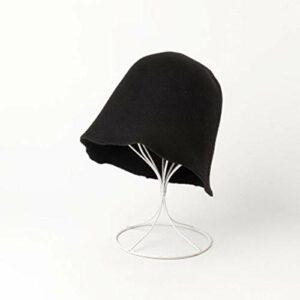YTO Mode Nouvelle d'Automne et d'Hiver, simplicité Occasionnelle, Chapeau Pliable de pêcheur de Laine, Chapeau, Visite de magasinage, Chapeau de Mendiant de Feutre