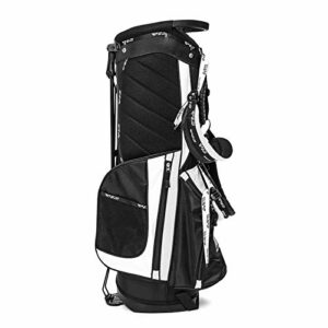 ZDAMN Sac de Golf Golf Club Stand Cart Bag Full Length Divider Shoulder Strap 14 Pocket Organised Outdoor Sport Waterproof Portable Golf Stick Storage Bag Sac de Golf pour l'extérieur