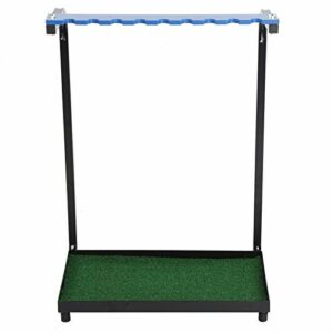 Zwindy Support de Putter de Golf en Acier de Haute qualité, Support de Club de Golf, pour Club de Golf de Terrain de Golf