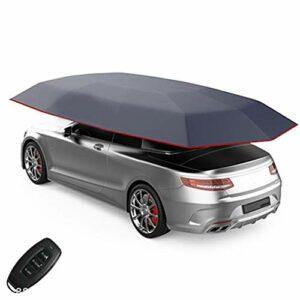 ZXYWW Voiture entièrement Automatique Tente Auvent Smart Auto isolé Couverture extérieure Canopy Portable étanche Plié Couverture Aintelligent Vêtements Voiture