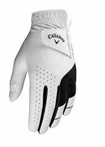 Callaway Gants de golf pour homme pour gaucher Taille XL Blanc Taille X