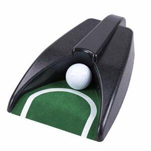 chenxiaspindes Putter de golf avec retour automatique pour putter de golf, appareil d'aide à l'entraînement pour les fêtes, les activités intérieures et extérieures