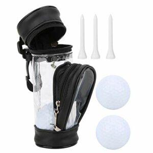 DAUERHAFT Petit Sac de Golf Multifonction avec Clip Solide Portable, pour l'exercice de Golf