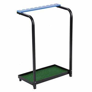 jjff Golf Club Golf Club Support de Rangement Présentoir Porte-9 Trous – présentoir en Rack Durable Clubs de Golf en métal étagère Équipement Organisateur