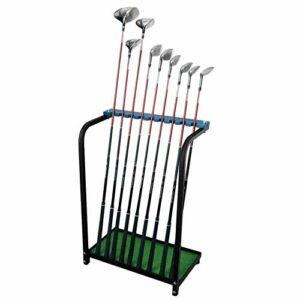 Support de Support de Rack de Stockage for Club de Golf de 9 Trous Support de Support de Support de Club de Golf Vert Stockage sur étagère de Conduite Fournitures