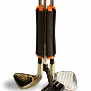 WeBetter Support De Club De Golf, Organisateur De Support De Club De Golf pour Contenir 6 Clubs De Golf, Support De Fixation De Support De Club De Golf Clip De Fixation De Club De Golf Portable Léger