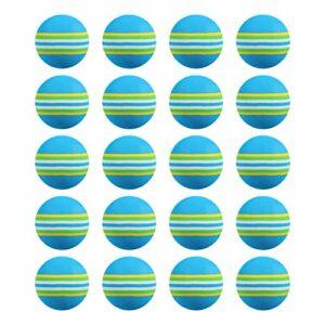 BESPORTBLE 20 Pièces EVA Golf Balles Arc- en- Léger Golf Pracitice Boules Boules Formation pour À L' intérieur De Golf en Plein Air Formation De Golf Accessoires