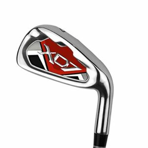 Club de pratique de golf de qualité supérieure pour les hommes femmes s'adapte à la pratique de golf en intérieur et en extérieur Coins de sable de golf ( Couleur : Red-M , Taille : Steel shaft )