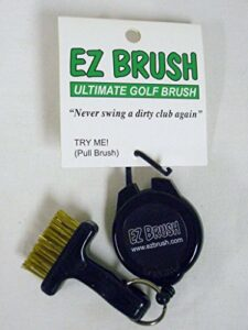 EZ Brush w/ Retractable 3 Ft String Wire Golf Brush NEW by JM