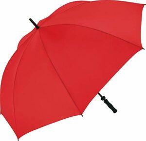 Fare – Parapluie golf 130 cm – fibre de verre – 2235 – coloris ROUGE – WINDPROOF – grande taille