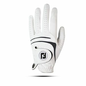 Footjoy 66245 Gant de Golf pour Homme Blanc Taille M