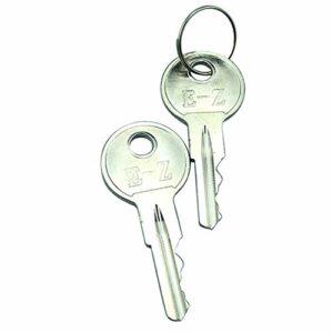 Hachiparts Keys Dallumage de Golf de Golf 17063G1 2 Pcs pour Ezg o (1982-Up) Gaz And Electric Golf Carts Tuff Camion 300 500 640 775 800 Workhors e MPT 800 1000 1200